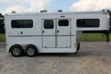 #B3300 - New 2016 Sundowner CHARTER2HGNTRSE 2 Horse Trailer  with 4' Short Wall