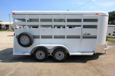 #77349 - New 2016 Bee 16' BP STK 2 Horse Trailer
