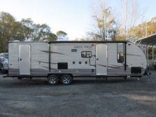 #34192 - New 2016 Forest River Cherokee Grey Wolf CCKT26DBH Travel Trailer  with 25' Short Wall