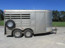 #87566 - Used 2005 WW 2H Wrangler 2 Horse Trailer  with 2' Short Wall