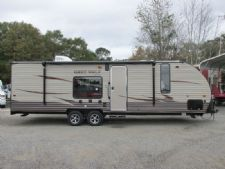#34161 - New 2016 Forest River Cherokee Grey Wolf CCKT26RR Travel Trailer  with 25' Short Wall