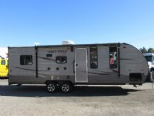 #34134 - New 2016 Forest River Cherokee Grey Wolf CCKT22RR Travel Trailer  with 22' Short Wall