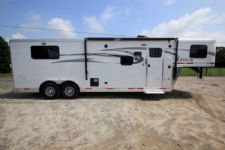 #01383 - New 2016 Lakota 8309LQ 3 Horse Trailer  with 9' Short Wall