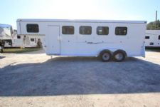 #77804 - Used 2014 Bee 4HSL 4 Horse Trailer  with 2' Short Wall