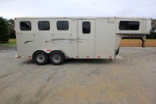 #24889 - Used 2003 Titan CLASSIC 7340 3 Horse Trailer  with 4' Short Wall