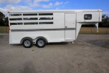 #77237 - New 2016 Bee 3HGNSL 3 Horse Trailer  with 2' Short Wall