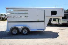 #77317 - New 2016 Bee 2HSLGN 2 Horse Trailer  with 2' Short Wall