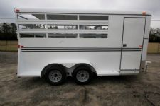 #77258 - New 2016 Bee 3HBPSL 3 Horse Trailer  with 2' Short Wall