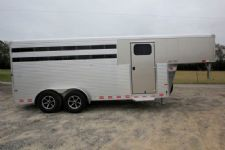 #B3608 - New 2016 Sundowner SS4HGN 4 Horse Trailer  with 2' Short Wall