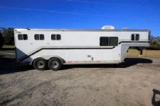 #97211 - Used 1999 Dreamcoach  3 Horse Trailer  with 8' Short Wall