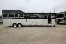 #01436 - New 2016 Lakota 8416SRGLQ Big Horn 4 Horse Trailer  with 16' Short Wall