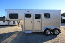 #B3760 - New 2016 Sundowner SPORTMAN2HGN 2 Horse Trailer  with 4' Short Wall