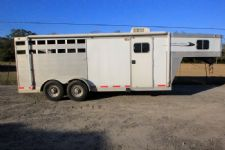 #58017 - Used 2002 Southern Classic 7306 3 Horse Trailer  with 6' Short Wall