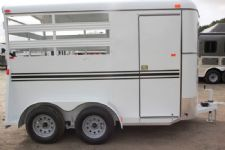 #77325 - New 2016 Bee 2HBPSL 2 Horse Trailer  with 2' Short Wall