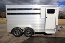 #B3221 - New 2016 Sundowner SS3HBP 3 Horse Trailer  with 2' Short Wall