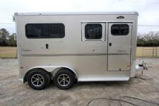 #B3321 - New 2016 Sundowner PERFORMER2HBP 2 Horse Trailer  with 5' Short Wall