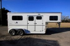 #B3557 - New 2016 Sundowner CHARTER2HGNTRSE 2 Horse Trailer  with 4' Short Wall