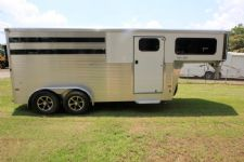 #B3209 - New 2016 Sundowner SS3HGN 3 Horse Trailer  with 3' Short Wall