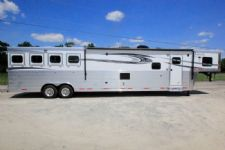 #00021 - New 2017 Lakota 8417GLQ BigHorn 4 Horse Trailer  with 17' Short Wall