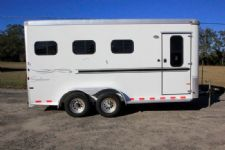 #C5183 - Used 2005 Sundowner  3 Horse Trailer  with 2' Short Wall