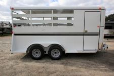 #77300 - New 2016 Bee 3HBPSL 3 Horse Trailer  with 2' Short Wall