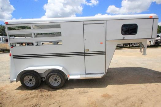 #77398 - New 2017 Bee 2HSLGN 2 Horse Trailer  with 2' Short Wall