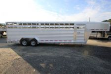 #34442 - Used 2014 Featherlite 28' STK Stock Trailer