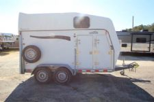#30892 - Used 2010 Bruton Brenderup 2 Horse Trailer  with 4' Short Wall