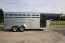 #B3996 - New 2017 Sundowner RANCHER20GNTR Stock Trailer  with 4' Short Wall