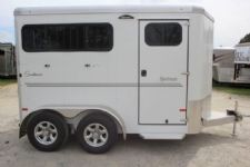 #B3997 - New 2017 Sundowner SPORTMAN2HBP 2 Horse Trailer  with 3' Short Wall