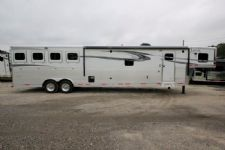 #00102 - New 2017 Lakota 8417GLQ BigHorn 4 Horse Trailer  with 17' Short Wall