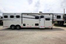 #00096 - New 2017 Lakota 8313LQ BigHorn 3 Horse Trailer  with 13' Short Wall