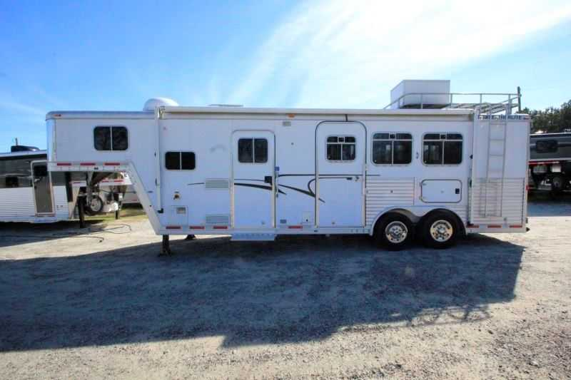 horse featherlite horse trailer with living quarters dixie horse
