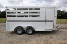 #77366 - New 2017 Bee 3HBPSL 3 Horse Trailer  with 2' Short Wall