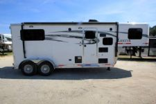 #00173 - New 2017 Lakota Charger 7207LQ 2 Horse Trailer  with 7' Short Wall