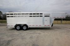 #86914 - Used 2006 Featherlite Stock Stock Trailer