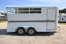#77350 - New 2016 Bee 3HBPSLDLX 3 Horse Trailer  with 2' Short Wall