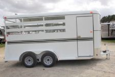 #77293 - New 2016 Bee 3HBPSL 3 Horse Trailer  with 2' Short Wall