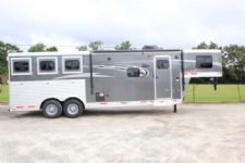 #00232 - New 2017 Lakota 8309LQ 3 Horse Trailer  with 9' Short Wall