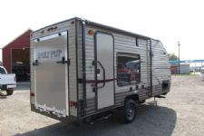 #37405 - New 2017 Forest River Cherokee Wolf Pup CCKT17RP Travel Trailer  with 17' Short Wall