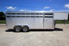 #B4390 - New 2017 Sundowner RANCHER20GN Stock Trailer