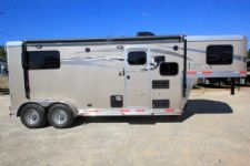 #00478 - New 2017 Lakota Charger 7207LQ 2 Horse Trailer  with 7' Short Wall