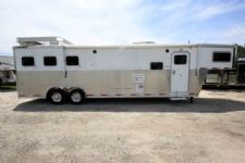#32398 - Used 2005 Sooner 8313GLQ 3 Horse Trailer  with 13' Short Wall