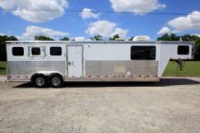 #69906 - Used 2005 Integrity 8310LQMT 3 Horse Trailer  with 10' Short Wall