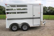 #77361 - New 2017 Bee 2HBPSL 2 Horse Trailer  with 2' Short Wall