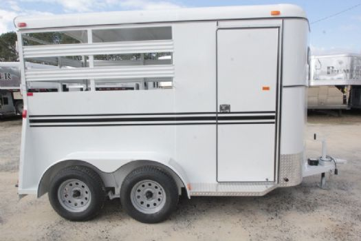 #77478 - New 2017 Bee 2HBPSL 2 Horse Trailer  with 2' Short Wall
