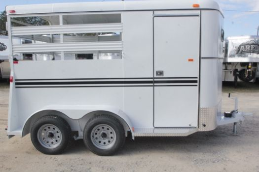 #77477 - New 2017 Bee 2HBPSL 2 Horse Trailer  with 2' Short Wall