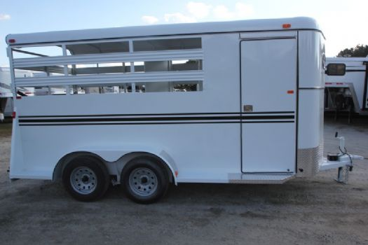#77442 - New 2017 Bee 3HBPSL 3 Horse Trailer  with 2' Short Wall