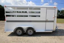 #77355 - New 2017 Bee 3HBPSL 3 Horse Trailer  with 2' Short Wall
