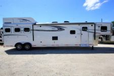 #00668 - New 2017 Lakota 8317GLQUG BigHorn 3 Horse Trailer  with 17' Short Wall